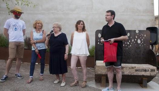 ANGLESOLA INAUGURA LA MILLORA A L'ENTRADA PRINCIPAL DEL MUNICIPI